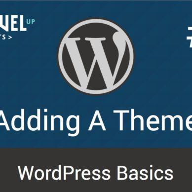 WordPress – Tutorial 12