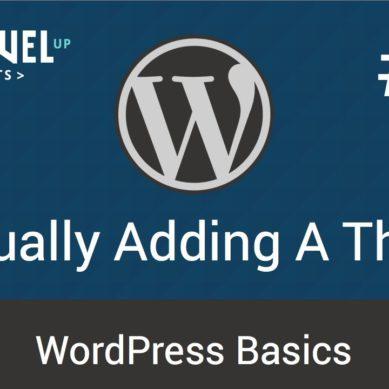 WordPress – Tutorial 13
