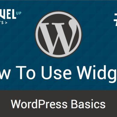 WordPress – Tutorial 14