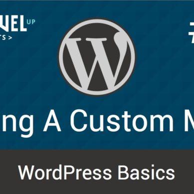 WordPress – Tutorial 15