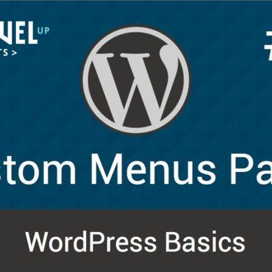 WordPress – Tutorial 16