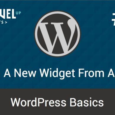 WordPress – Tutorial 19