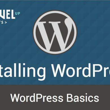 WordPress – Tutorial 2