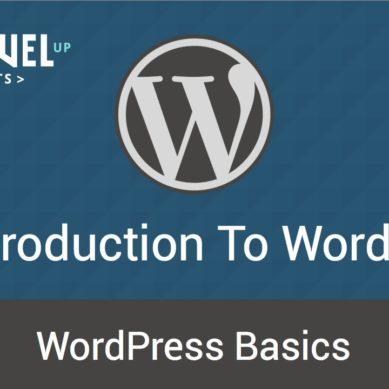 WordPress – Tutorial 3