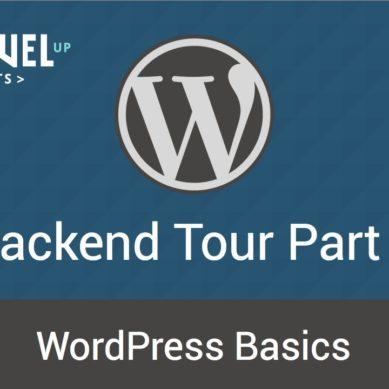 WordPress – Tutorial 6