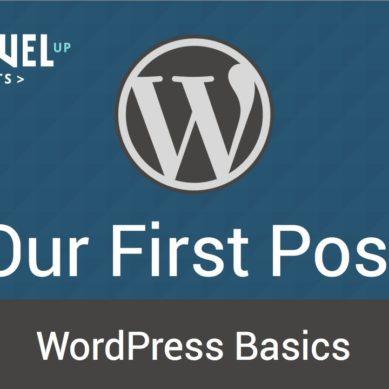 WordPress – Tutorial 7