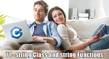 C++ Programming Language Tutorial – 71