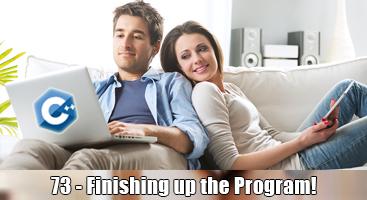 C++ Programming Language Tutorial – 73