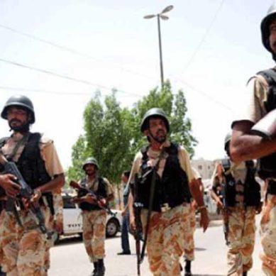 Rangers Arrest MQM Leader Asif Husnein