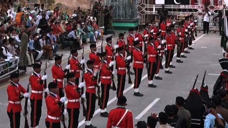 Independence Day Parade At Wagah Border