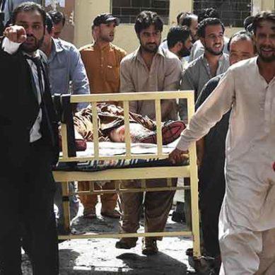 Quetta: Blast Footage