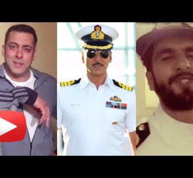 After Salman Khan, Ranveer Singh Promotes Rustom