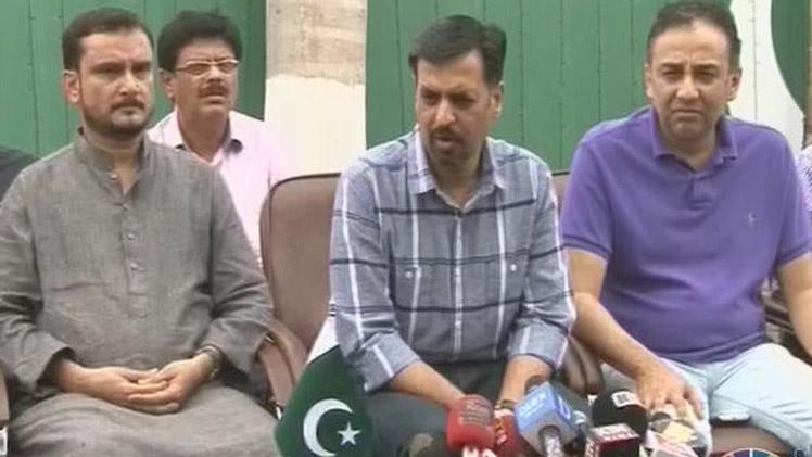 Mustafa Kamal On Joining Of Asif Husnain