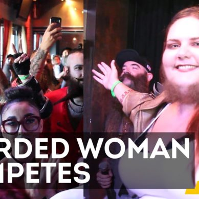 Bearded Lady Puts Down Razor, Enters Contest