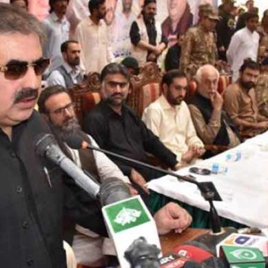 CM Balochistan Nawab Sanaullah Zehri Talks To Media