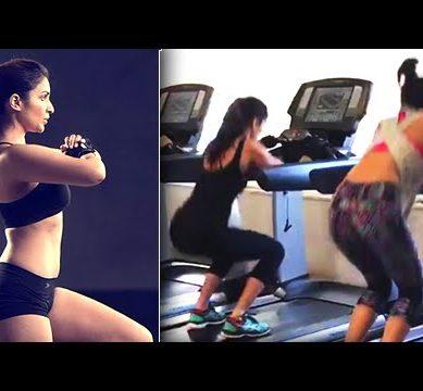 HOT! Alia Bhatt, Katrina Kaif, Parineeti Chopra WORKOUT TOGETHER