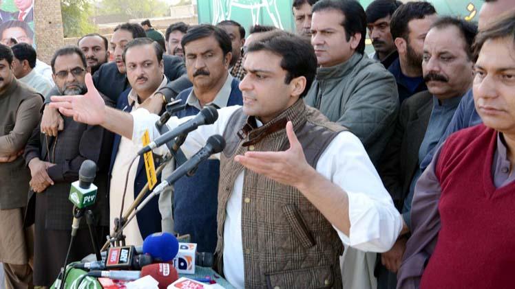 Hamza Shahbaz Criticises Imran Khan