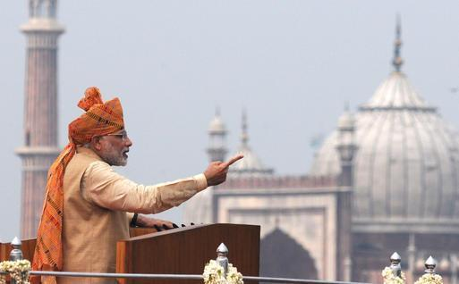 PM Modi Bashes Pakistan during The Indian Independence Day Address