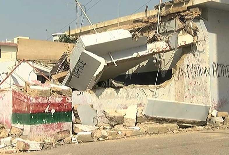 Several MQM Offices Bulldozed in Karachi