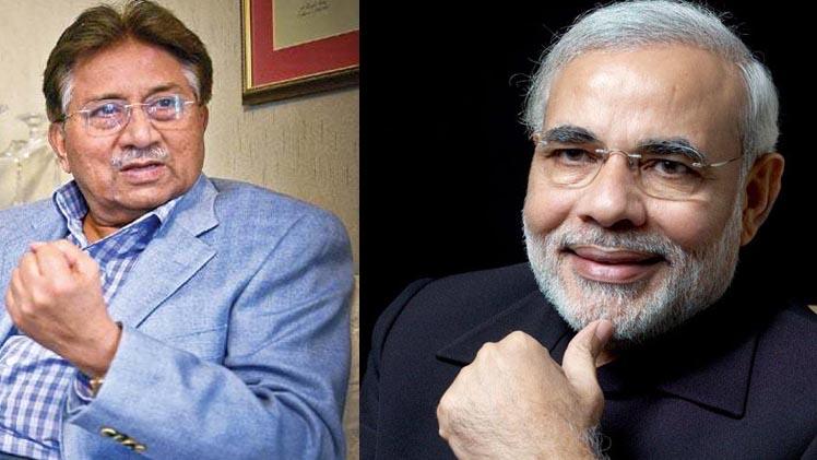 Modi Musharraf