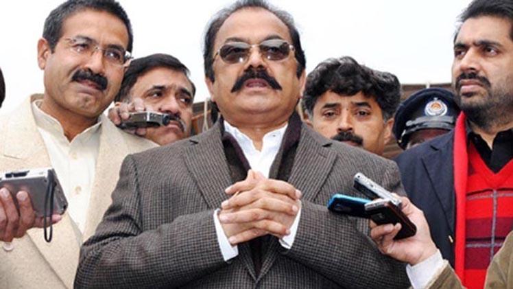 Mustafa Kamal Has Establishment's Support: Rana Sanaullah