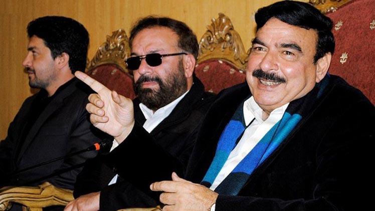 Shaikh Rasheed Turns Angry On Anchor