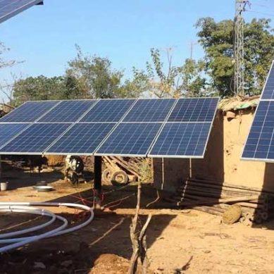 Solar Tube-Wells Installed In Peshawar