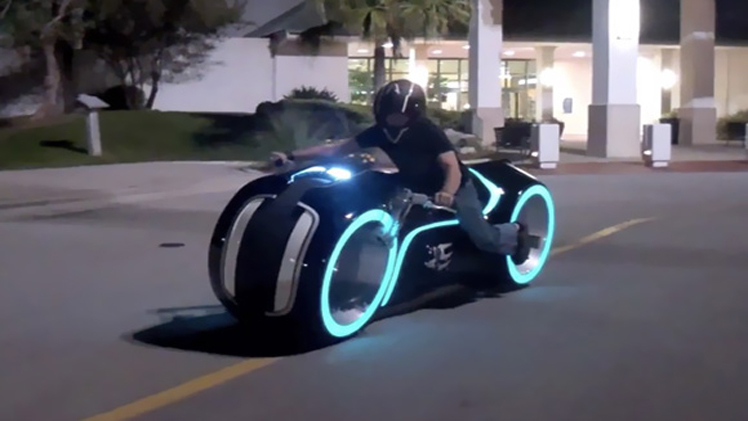 Bike 'Tron' is Real