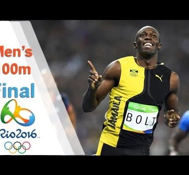 Watch Usain Bolt Win 100m in Rio Olympics