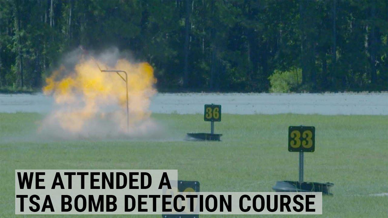 TSA Bomb Detection Course