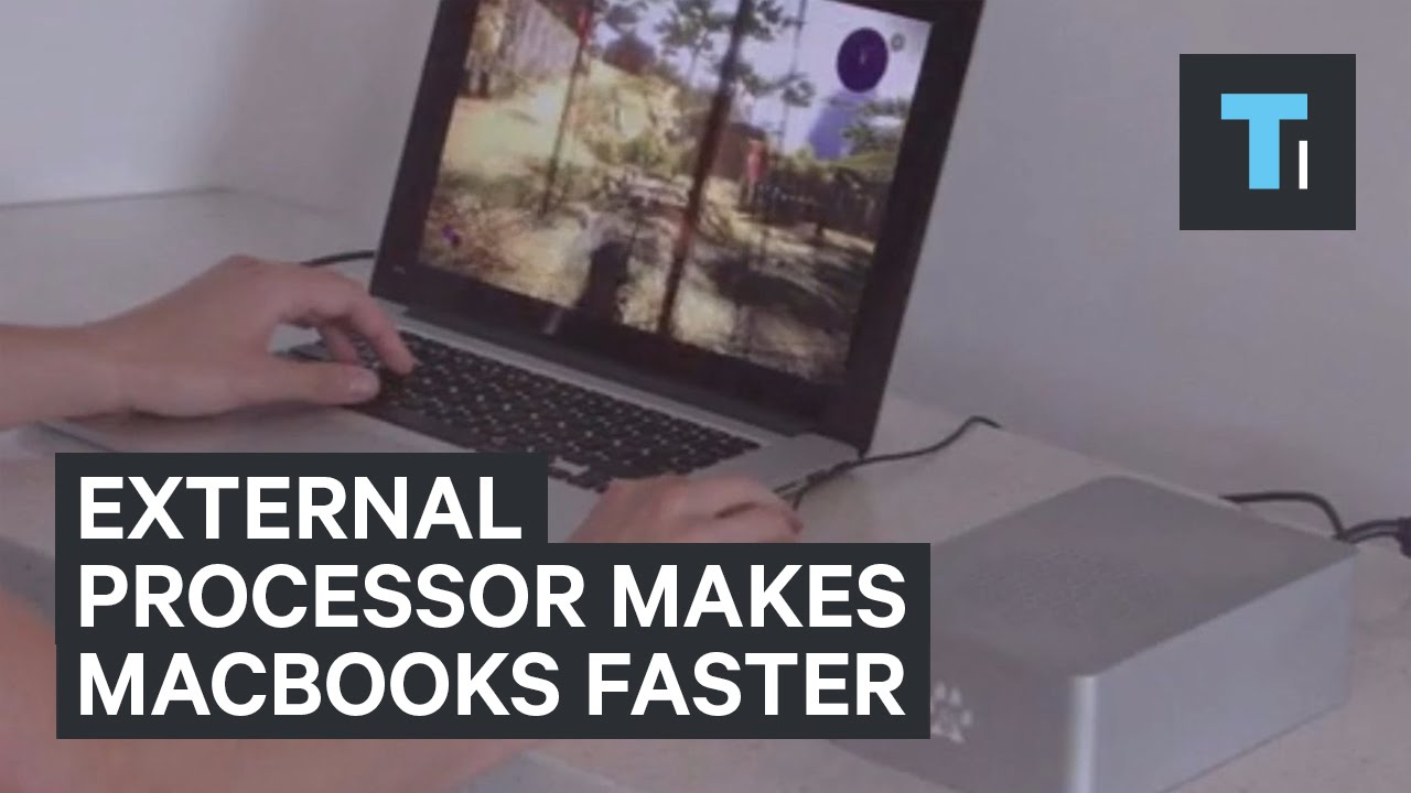 External processor: MacBooks Becomes Faster