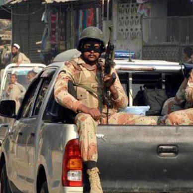 Rangers in Sindh
