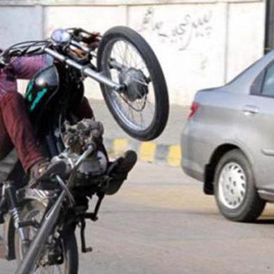 'One Wheeling'
