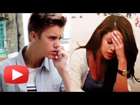 Selena Gomez SHRUGGING OFF Justin Bieber