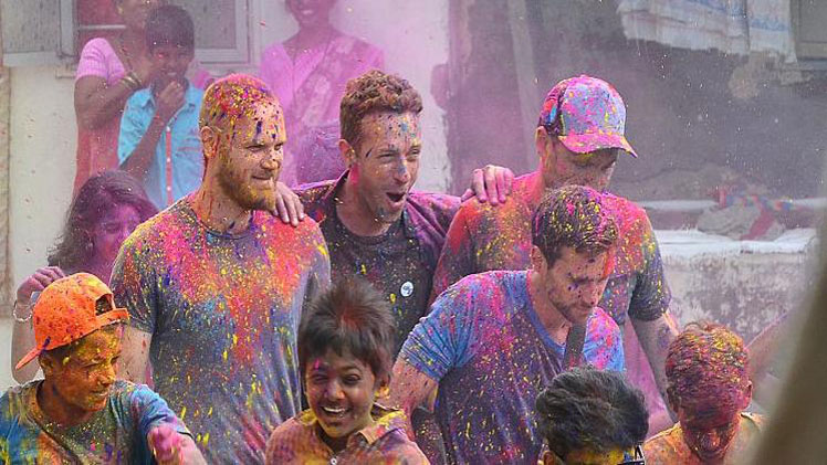 Coldplay's Anti-Poverty Concert In India