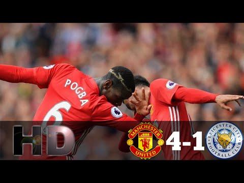 Manchester United vs Leicester City 4-1 // All Goals & Full Highlights // EPL 24/09/2016 HD