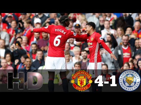 Manchester United vs Leicester City 4-1 All Goals & Full Highlights EPL 24/09/2016 HD
