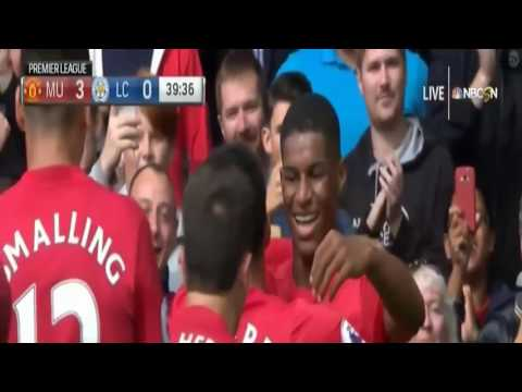 Manchester United vs Leicester City 4 – 1 All Goals and Highlights Premier League 2016