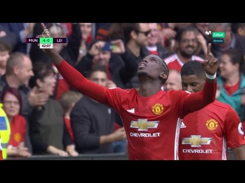 All Goals & Highlights ~ Manchester United 4-1 Leicester City ~ 24/09/2016 [Premier League]