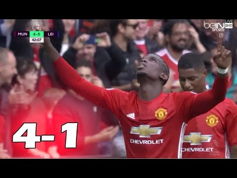 Manchester United vs Leicester City 4-1 All Goals and Highlights ~ Premier League 2016