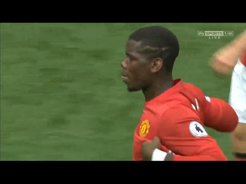 Paul Pogba Goal vs Leicester City l Manchester United vs Leicester City 4-1 All Goals And Highlights