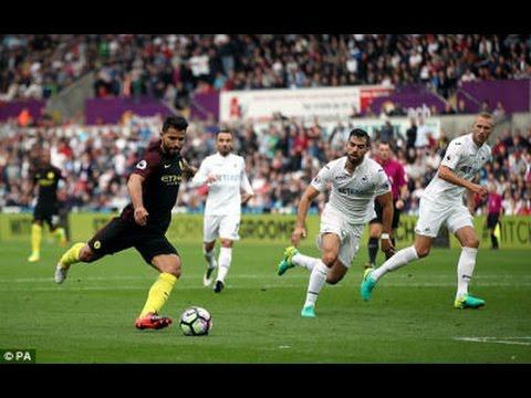 Swansea City vs Manchester City 1 – 3 All Goals & Highlight Premier League 24.09.2016