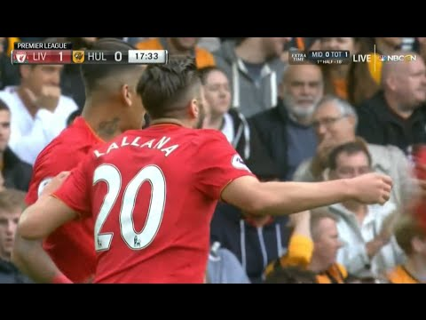 Adam Lallana Goal – Liverpool vs Hull City 5-1 (Premier League) HD