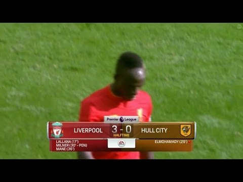Sadio Mane Goal – Liverpool vs Hull City 5-1 (Premier League) HD