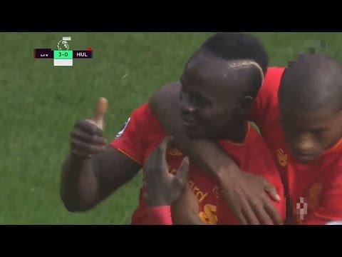 Sadio Mane Goal – Liverpool vs Hull City 5-1 Premier League 2016 HD