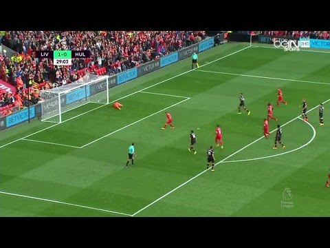 James Milner Penalty Goal – Liverpool vs Hull City 5-1 Premier League 2016