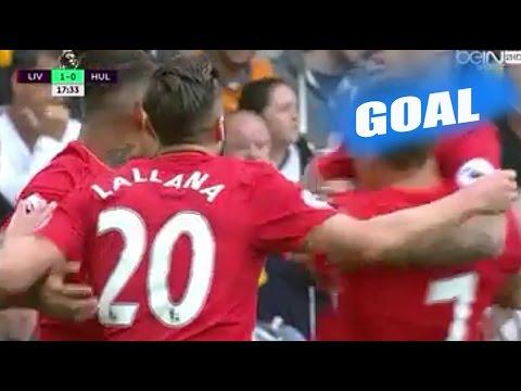 Adam Lallana Goal vs Hull City – Liverpool vs Hull City 5-1 – Premier League 24/9/2016