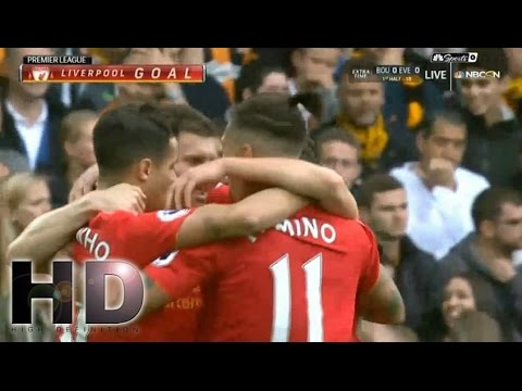 Liverpool vs Hull City 5-1 All Goals and Highlights 2016