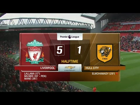Liverpool vs Hull City 5-1 All Goals and Highlights 2016 HD