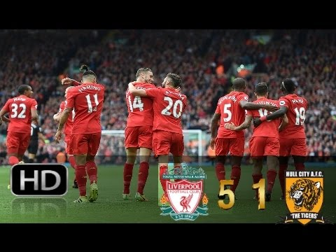 Liverpool vs Hull City 5-1 All Goals Highlights 24/09/2016 HD